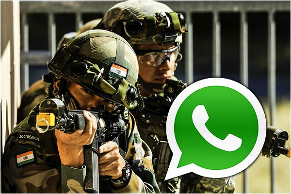 Indian Army has instructed all its 13-lakh personnel to avoid using WhatsApp