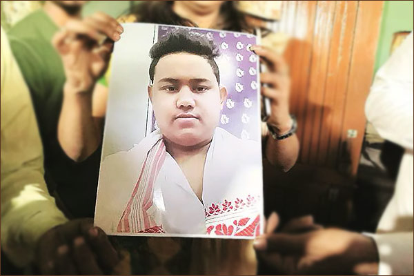 Kin of 17-year-old killed in Assam protest