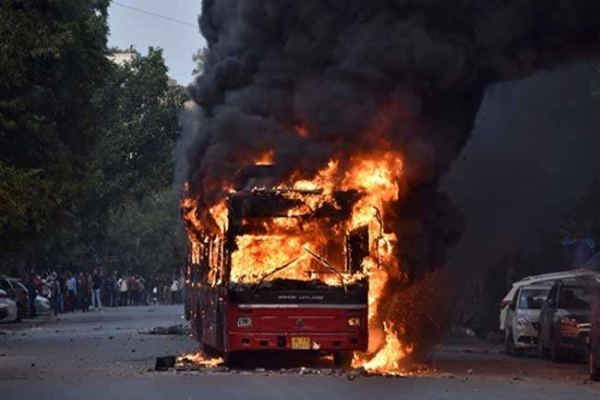 Violent protest in West Bengal attack on media persons