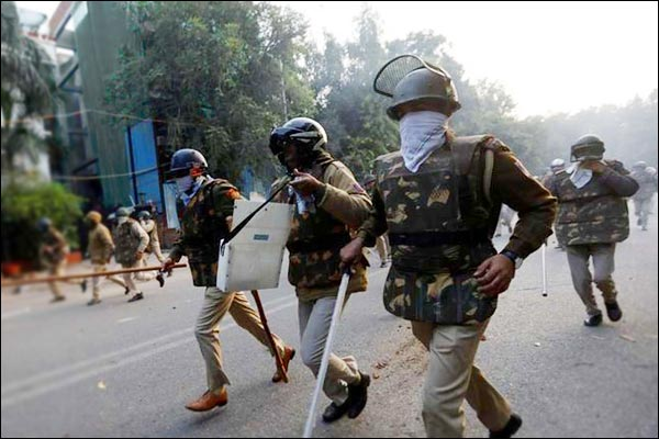 Police had permission from the Proctor to enter the Jamia campus