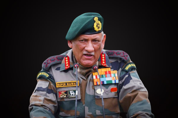 General Bipin Rawat said that the situation on the LOC could get worse at any time