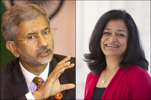 Jaishankar refuses to meet with Pramila who questions Kashmir