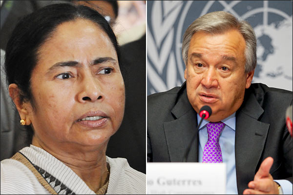UN rejects plebiscite, Mamta started cleaning there
