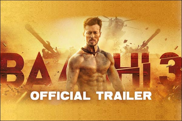 Baaghi 3 Trailer out