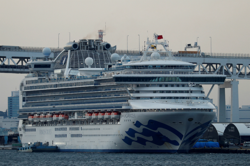 2 Indians on board Japanese cruise ship test positive for coronavirus