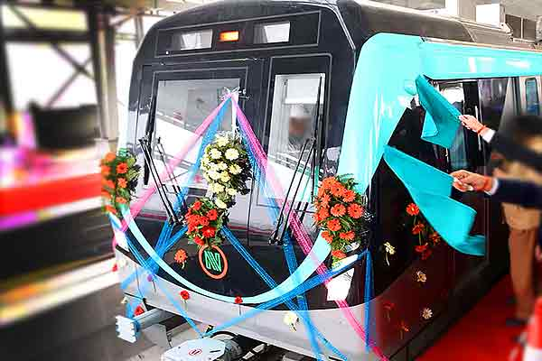 Jaipur and Gujarat  now Noida Metro allows booking of coaches for parties
