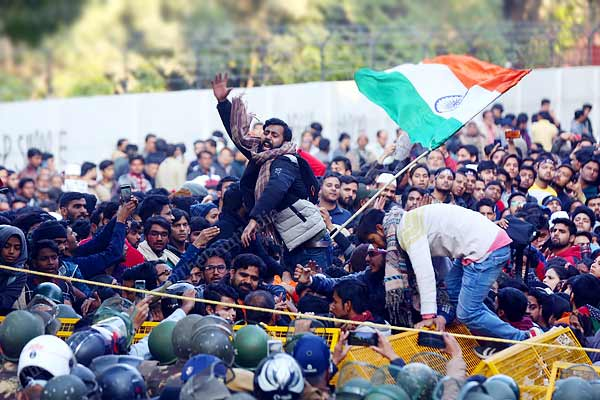 Chargesheet filed in Jamia violence  Sharjeel name also included