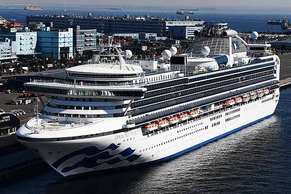 Another Indian test positive for coronavirus on cruise ship off Japan coast