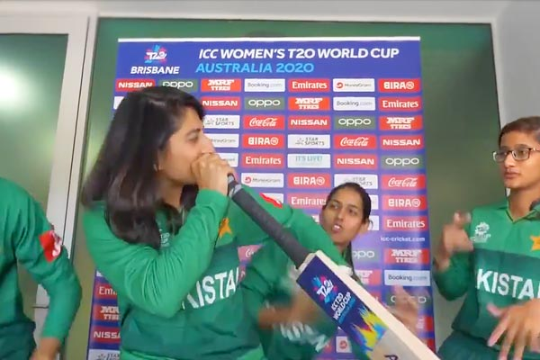 Twitter unimpressed after ICC shares video of Pakistan female cricketers dancing