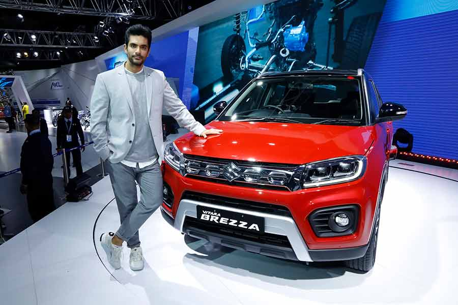 Maruti Suzuki unveils Vitara Brezza with More Style and Power at Auto Expo 2020