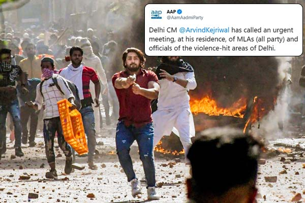 Home Minister Amit Shah calls urgent meeting of all MLAs amid violence in Delhi