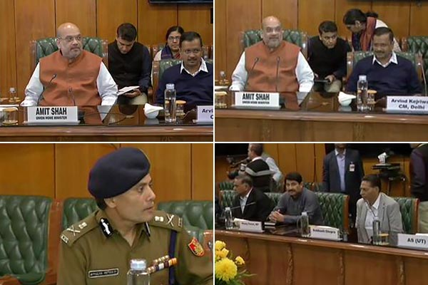 Delhi CM MLAs meeting with HM Amit Shah concludes  Shah assures of required action