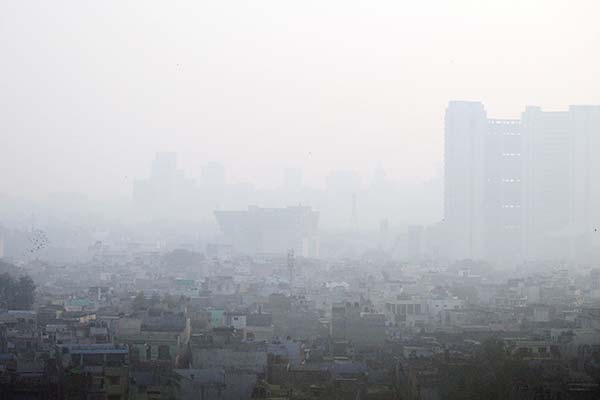 Ghaziabad most polluted city in the world