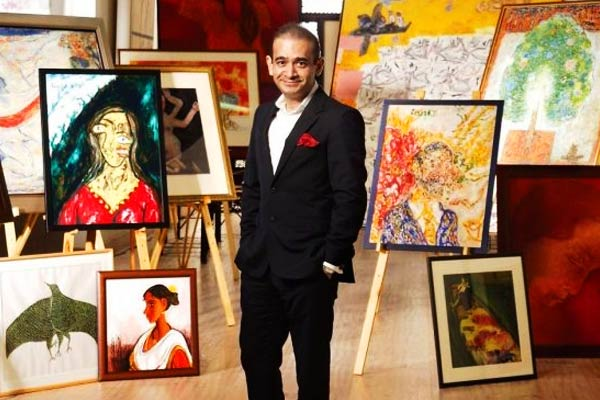Now fugitive Nirav Modi  valuables will be auctioned in March