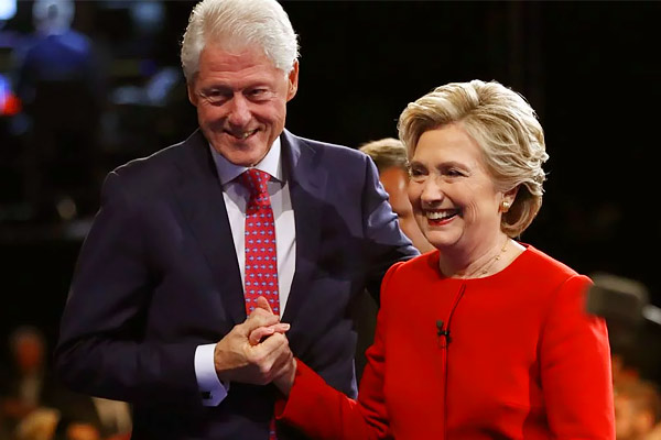 Clinton said after 25 years  he had relations with Monica Lewinsky to reduce presidential tension
