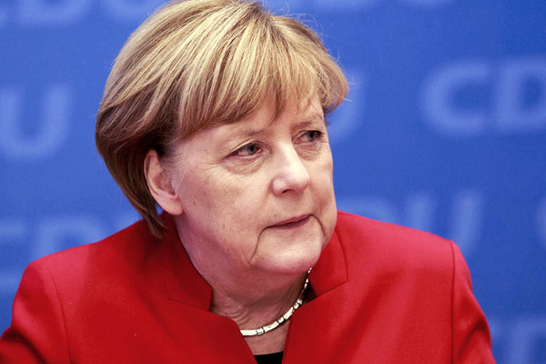 Nearly 70% German population could contract coronavirus  German Chancellor Angela Merkel