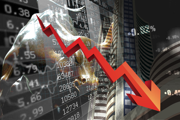 Stock market crash, Sensex fell 1700 points and Nifty 500 points on opening