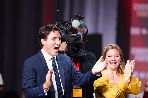 Sophie Gregoire Trudeau diagnosed with COVID-19 and  PM to remain in isolation