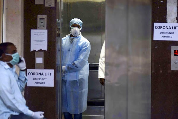 Doctor who treated India  first patient to die of Coronavirus tests positive