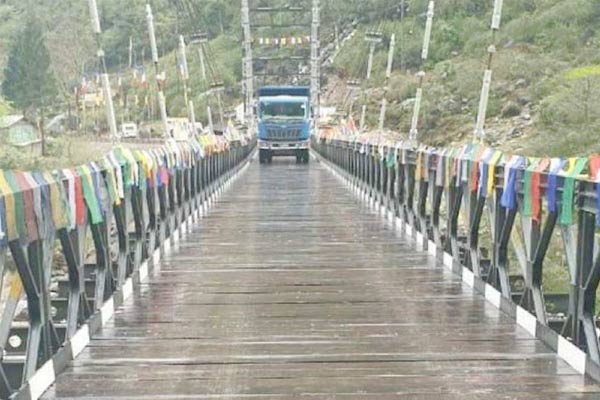 Bridge constructed over Teesta river in north Sikkim opened for traffic