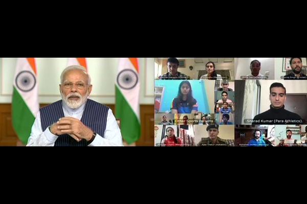PM holds meeting with 40 elite sportspersons
