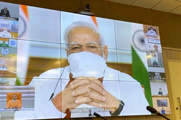 PM Modi to Chief Ministers during video conference says  I am Available 24x7