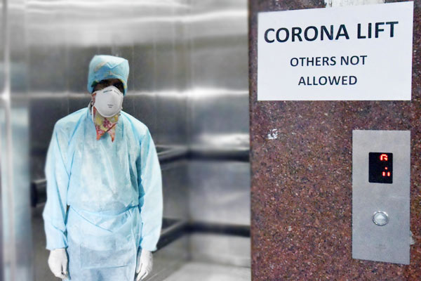 Total coronavirus cases in India surge to 8447 death toll at 273