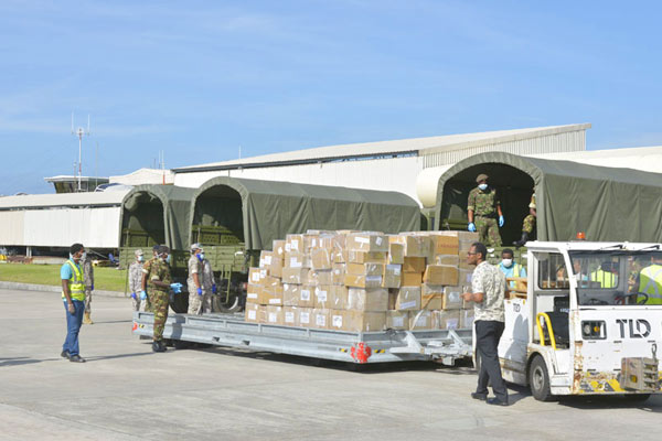 India provides four tonnes of essential life-saving drugs to Seychelles