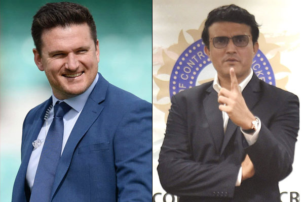 Sourav Ganguly should become ICC President Graeme Smith