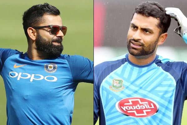 I used to feel ashamed 2-3 years ago watching Virat Kohli train Tamim Iqbal