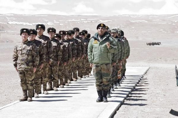 India said China removed 10,000 soldiers and weapons from LAC