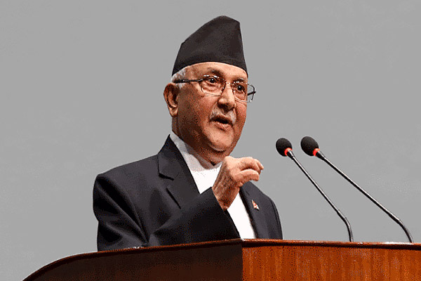 85% of people tested positive for coronavirus in Nepal are those who returned from India KP Oli