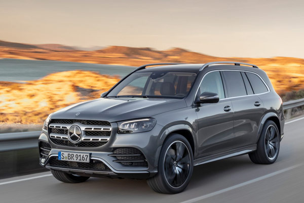 Mercedes-Benz GLS launched in India with two variants