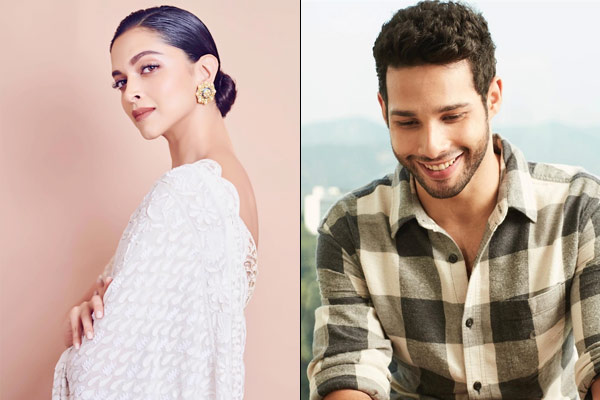 It is a dream for every boy Siddhant Chaturvedi on working with Deepika Padukone