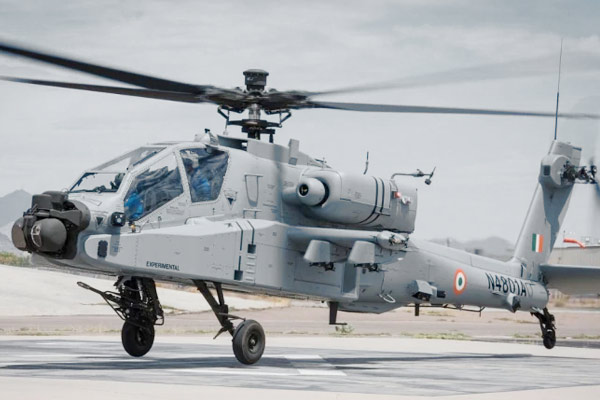 Boat of combat helicopters complete Boeing handed over 5 Apache to Indian Air Force