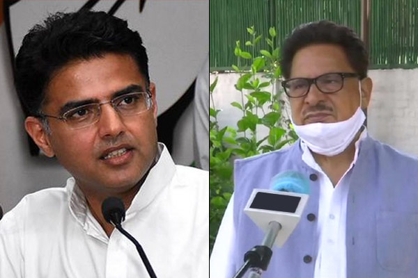 Posters of Sachin Pilot removed from Rajasthan Congress office in Jaipur amid tussle with CM Gehlot