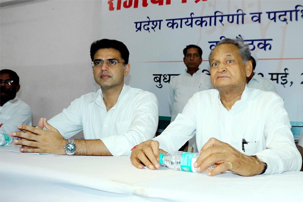 Pilot accuses Ashok Gehlot and his associates of ganging up against him