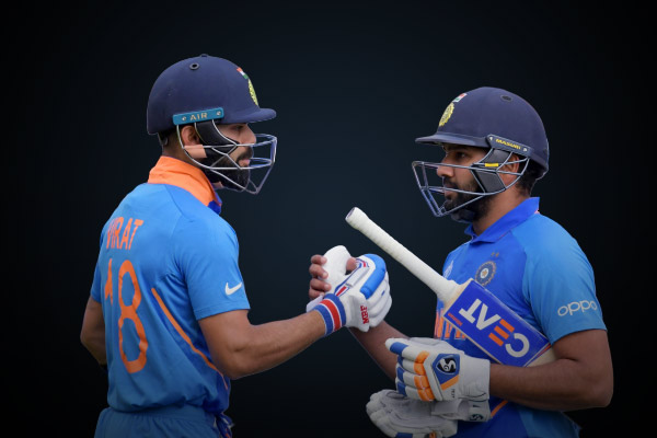 Virat Kohli and Rohit Sharma retain top two spots in ICC ODI Rankings for batsmen