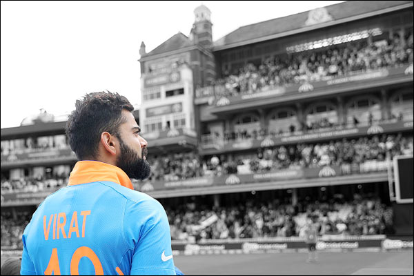 A study show Virat Kohli as the most-searched cricketer in the world