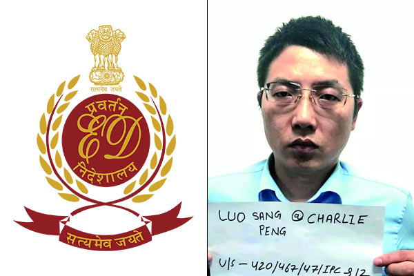 ED registers PMLA case against Chinese Charlie Peng, others in Rs 1000 cr Hawala case