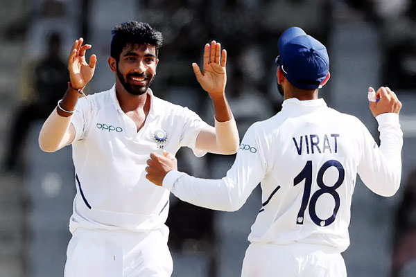 ICC Test Rankings Virat Kohli maintains second spot Jasprit Bumrah drops down to ninth