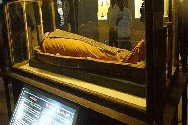Thousands of years old Egyptian mummy saved from drowning in Jaipur rain