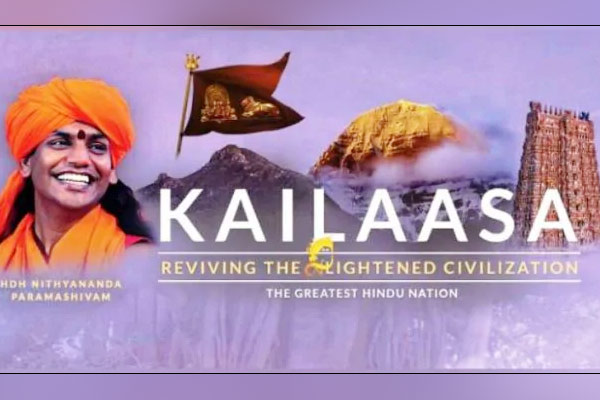 Self-styled Godman Nithyananda sets up his own Reserve Bank of Kailasa launches currency
