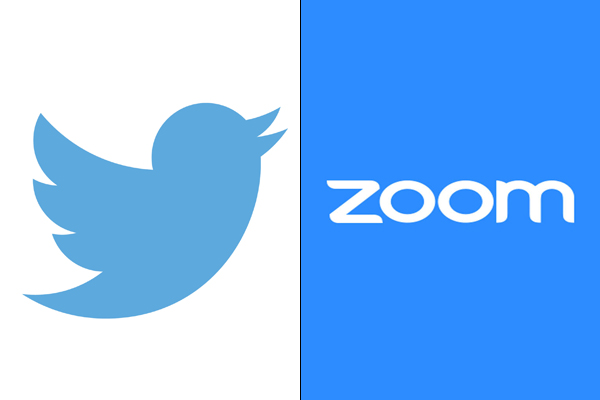Twitter and Zoom