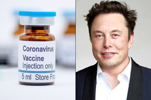 Elon Musk and family denied to take coronavirus vaccine