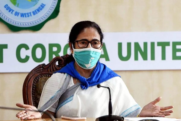 Mamata Banerjee Claims that Corona Virus Is Spreading In West Bengal By Truck Coming From Other Stat