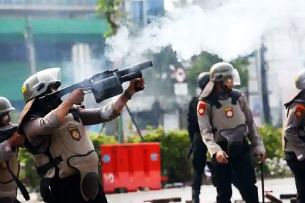 Clashes in Indonesia