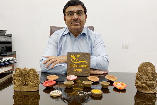 Cow dung prevents radiation, mobiles should be made of this chip
