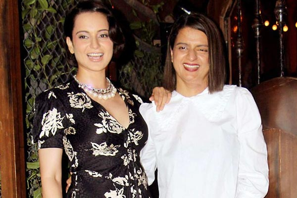 Kangana Ranaut and Rangoli Chandel