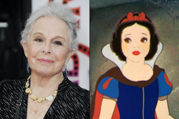 Hollywood Disneys model for Snow White Marge Champion dies at the age of 101